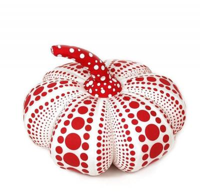 Yayoi Kusama (after) PUMPKIN RED PLUSH (LARGE)
