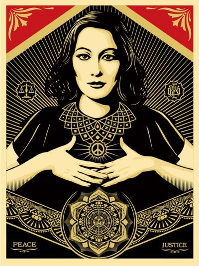 Peace & Justice Woman - Obey
