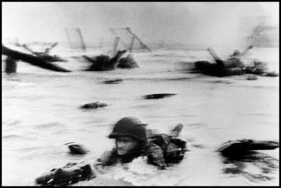Robert Capa (1913-1954) - Normandy, June 6th, 1944 on Fuji Crystal Archive matte paper