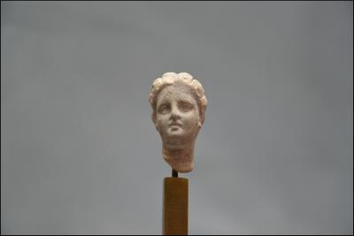 Ancient Greece, Hellenistic period, 3rd-1st century BC - Terracotta face