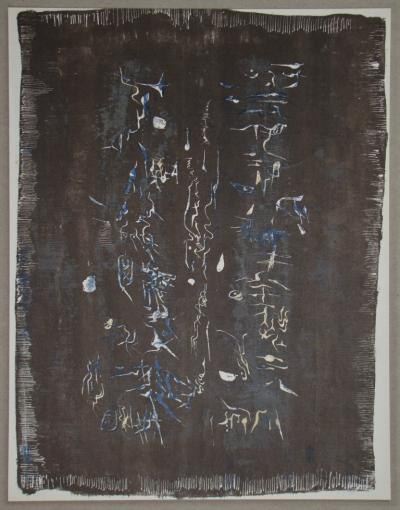 ZAO WOU-KI - Original lithograph - Composition - 1958