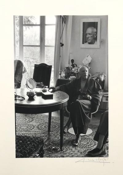 Pablo PICASSO - 5 original photographs by Lucien CLERGUE - 30 copies only