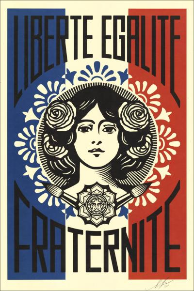 SHEPARD FAIREY (OBEY) - Sérigraphie
