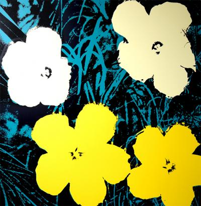 Andy Warhol After Sunday B Morning Flowers 11 72 Screen Print