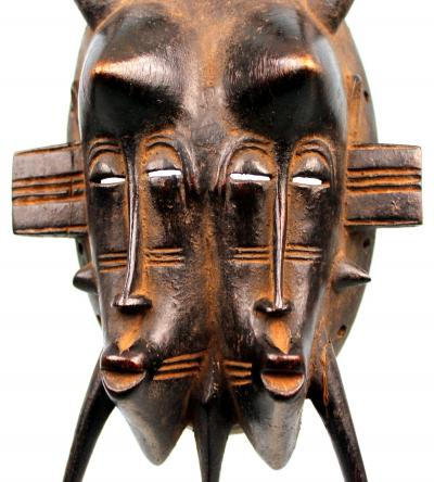 Finely Carved N'gambele Mask - SENUFO - Cote d'Ivoire