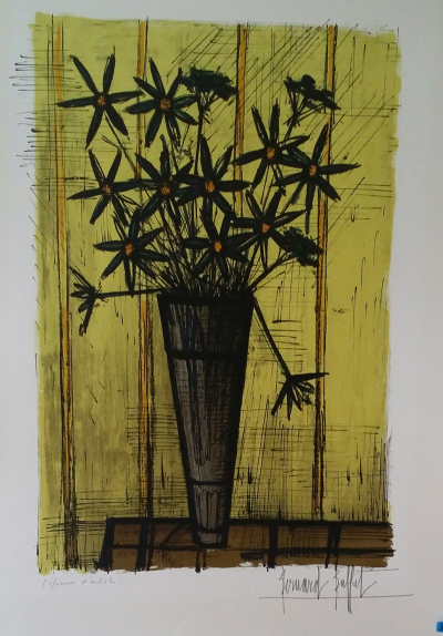 Pleasing Bernard Buffet Rare Original Lithograph From 1958 Of The Download Free Architecture Designs Lectubocepmadebymaigaardcom