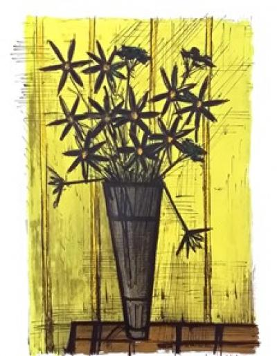 Bernard Buffet - Rare Original lithograph from 1958 of the print side edition, hand signed in pencil