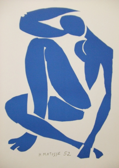 Henri MATISSE (after) - Blue Nude IV, lithograph