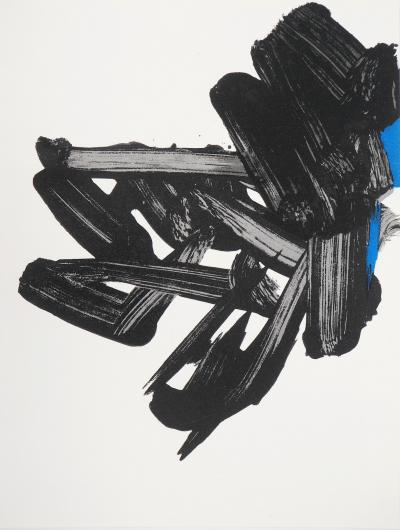 Pierre SOULAGES : Lithographie n°17 - Lithographie originale, 1964
