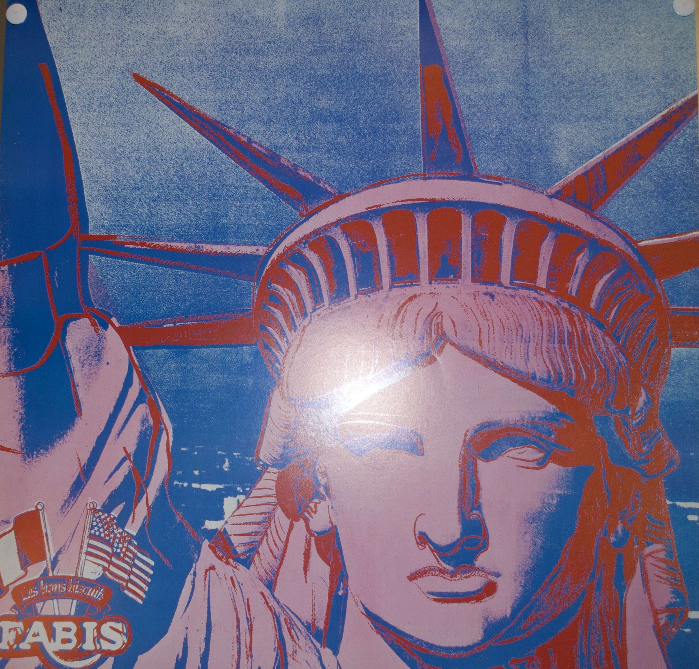 Andy Warhol Statues Of Liberty 1986 Offset Poster Contemporary Art Plazzart