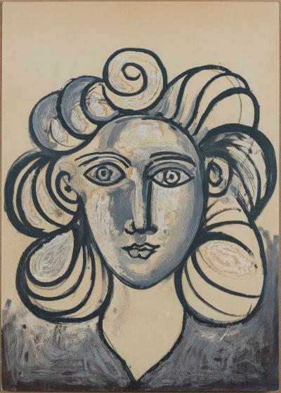 Pablo Picasso (after) - Jacqueline I. Mourlot Editions, 1954.