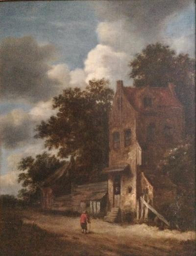 Roelof Jansz van Vries (1631 - circa 1681), signed oil on panel - 17th century