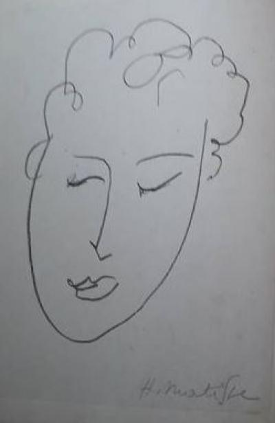 Henri Matisse - Original lithograph signed in pencil