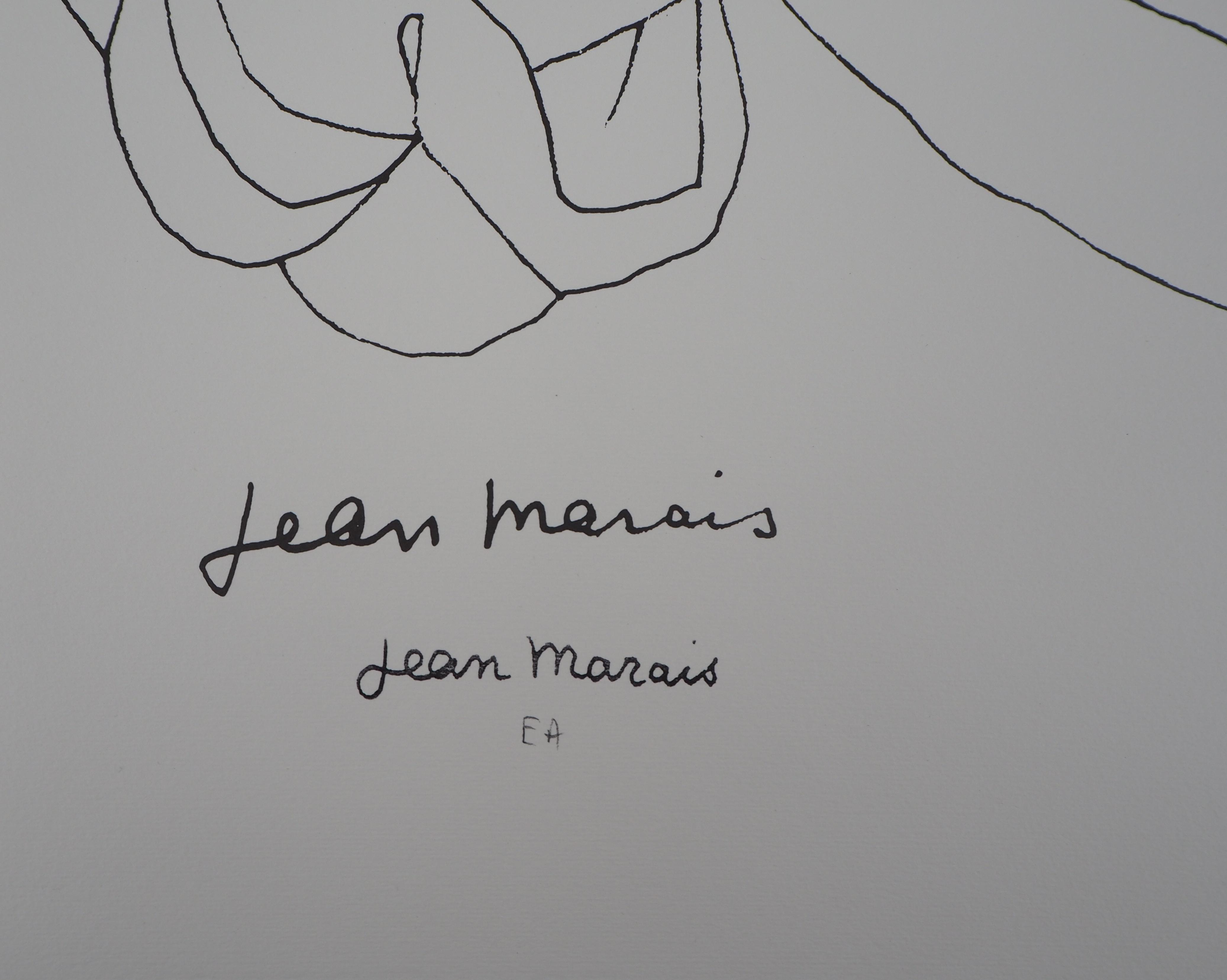 eabca7bc6c4 Jean MARAIS - Le jeune homme et l oiseau