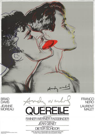 Andy WARHOL - Querelle grise, 1983 - Impression offset