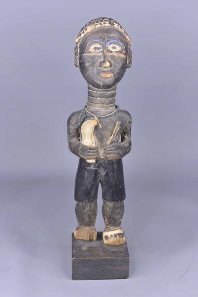 Baoule Côte d/'Ivoire Statuette de roi