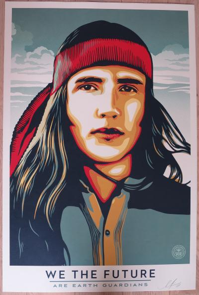 Shepard Fairey (Obey) We The Future Are Earth Guardians