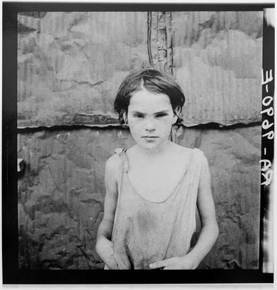 Dorothea LANGE - Troubled Child, 1936, silver gelatine limited edition print