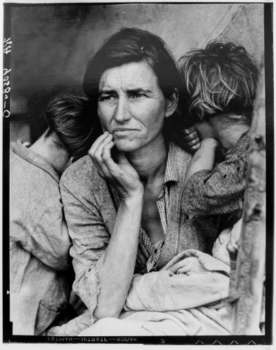 Dorothea LANGE - Migrant Mother, 1936, silver gelatine limited edition print