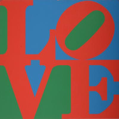 Robert INDIANA - Love Wall, 1967 - Original silkscreen