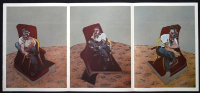 Francis BACON - Triptyque, 1966 - Lithographie