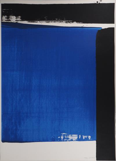Pierre SOULAGES - Silkscreen n°16, 1981 - Original handsigned silkscreen