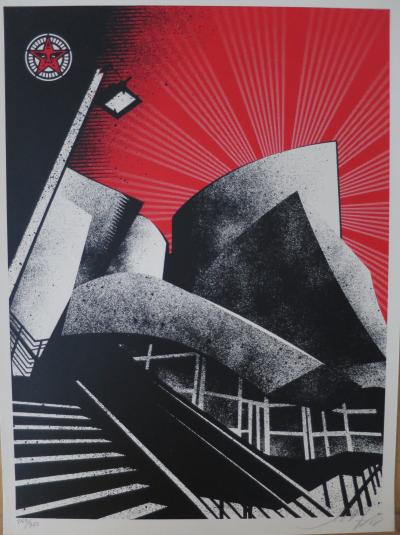 Shepard FAIREY (Obey) - La Philharmonic Hall 2007 - Handsigned silkscreen