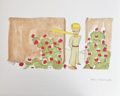 Antoine de SAINT-EXUPERY (after) - The Little Prince, set of 3 signed lithographs