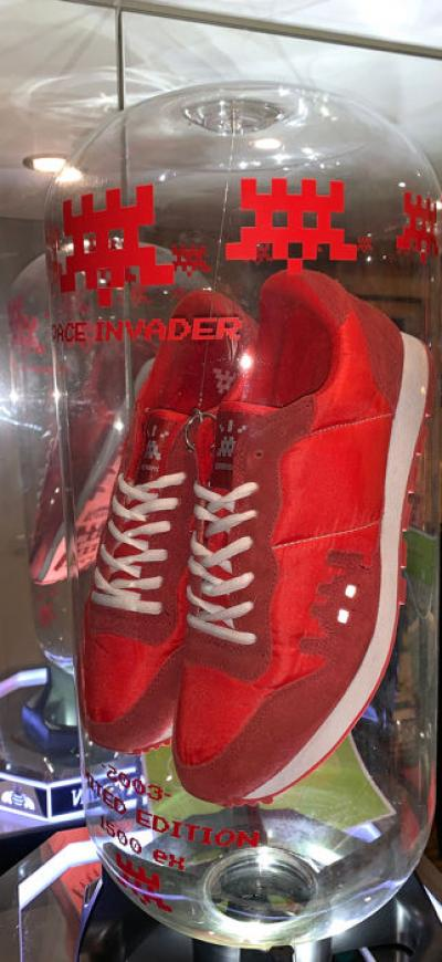 Invader - Red 01 Point Sneakers Package, 2003