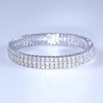 3 Line Tennis Bracelet with 12.46 ct. Diamonds