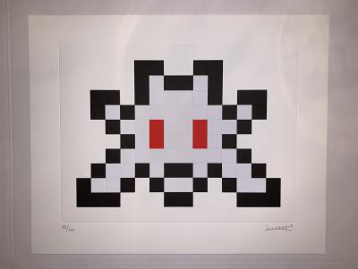 INVADER - Full Little Big Space, 2019 - Hand signed lithograph