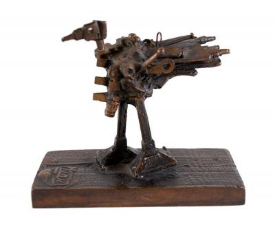 CÉSAR - Poule, 1986 - Bronze Sculpture, signed and numbered