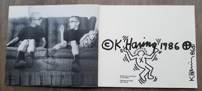 Keith HARING - Untitled, 1986 - Drawing on catalogue page