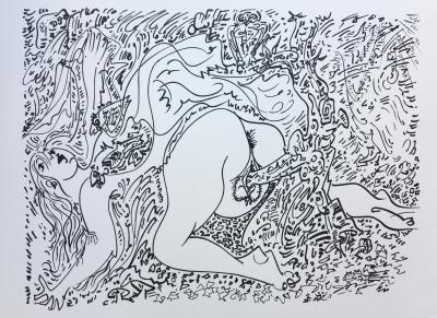 Andre Masson Dessins Erotiques 1971 Set Of 9 Original Lithographs Contemporary Art Plazzart