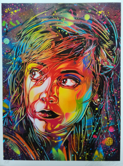 C215 - Looking To The Future, 2020 - Digital hand signed print