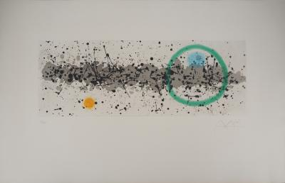 Joan MIRO : Wind Work - Original etching, Handsigned
