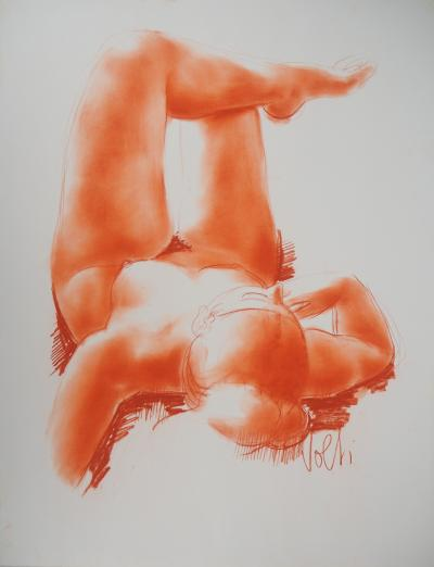Antoniucci VOLTI - Reclining nude : Original handsigned drawing