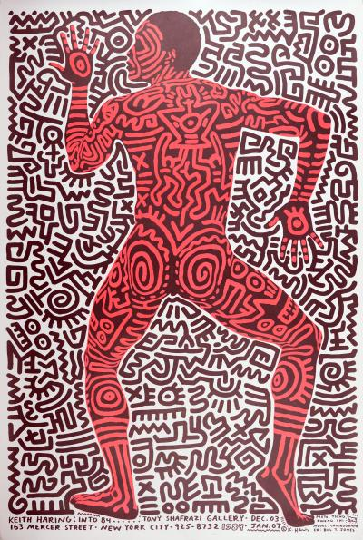 Keith HARING - Keith Haring: into 84, 1984 - Screenprint
