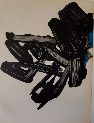 Pierre SOULAGES  - Lithograph #17, 1964 - Original lithograph