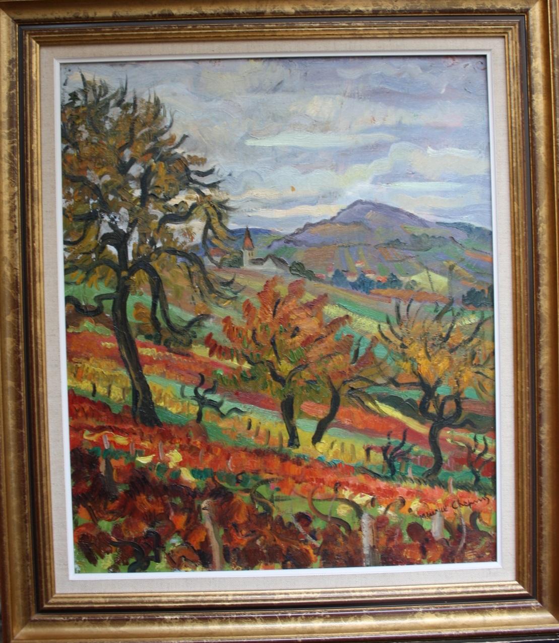 Post War Modern Art Maurice Chapuis 1922 2010