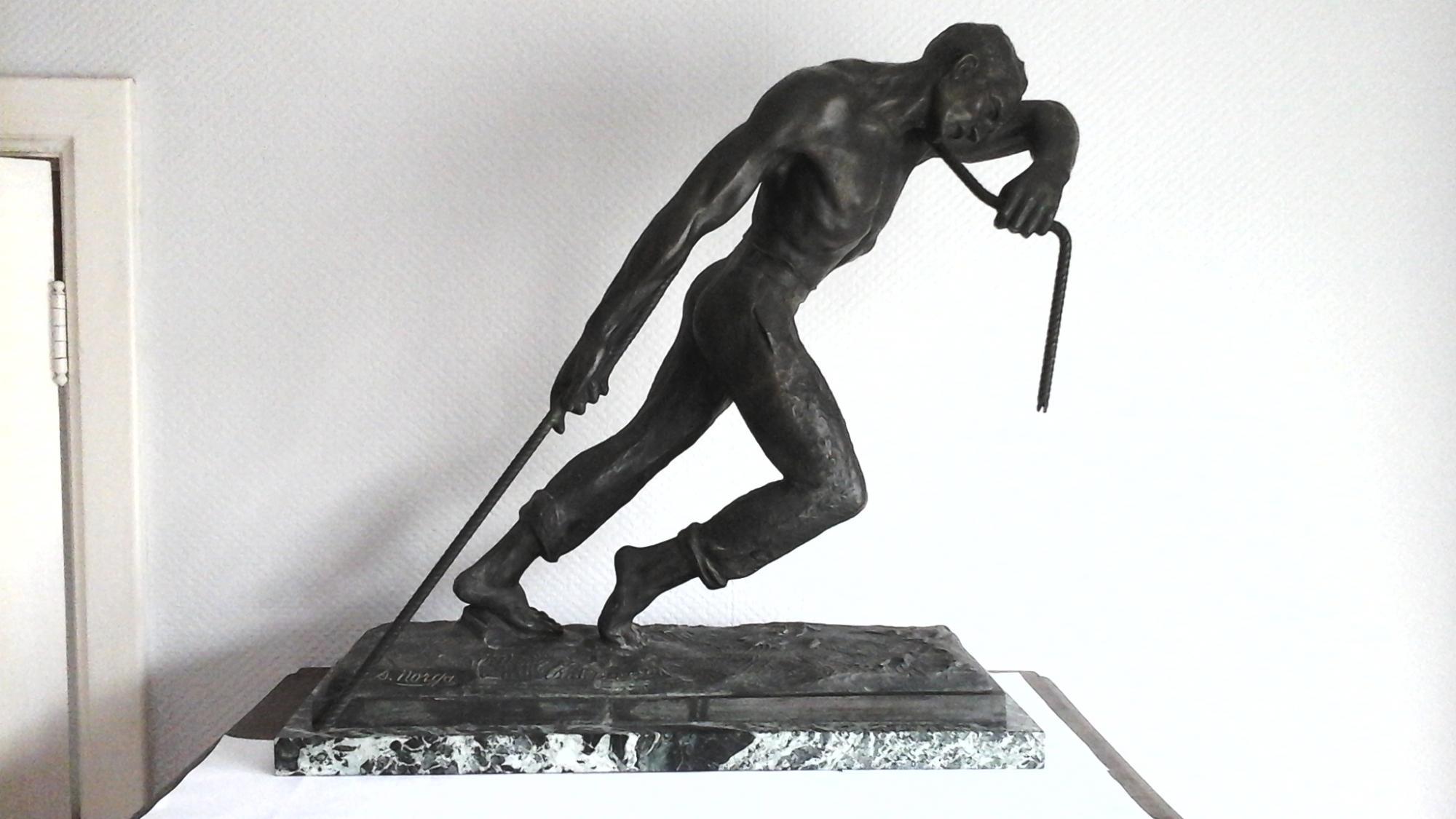 Post War Modern Art Sylvain Norga 1892 1968 Figure