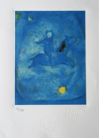 Marc CHAGALL (after) - 1001 Nights, 1985, lithograph