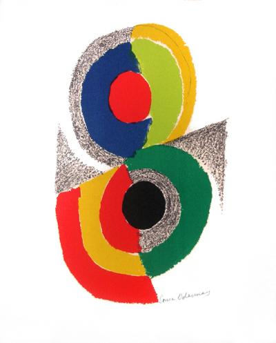 Sonia Delaunay Rythms and colours VI (1971)