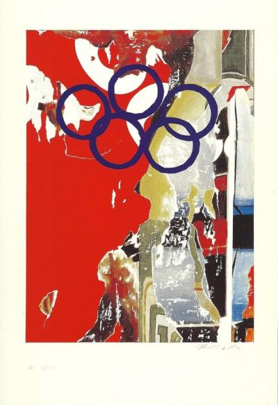 Mimmo ROTELLA   Jeux Olympiques, Barcelone 1992