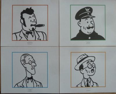 85 lithographs of Tintin - Hergé / Moulinsart - 2010 and 2011