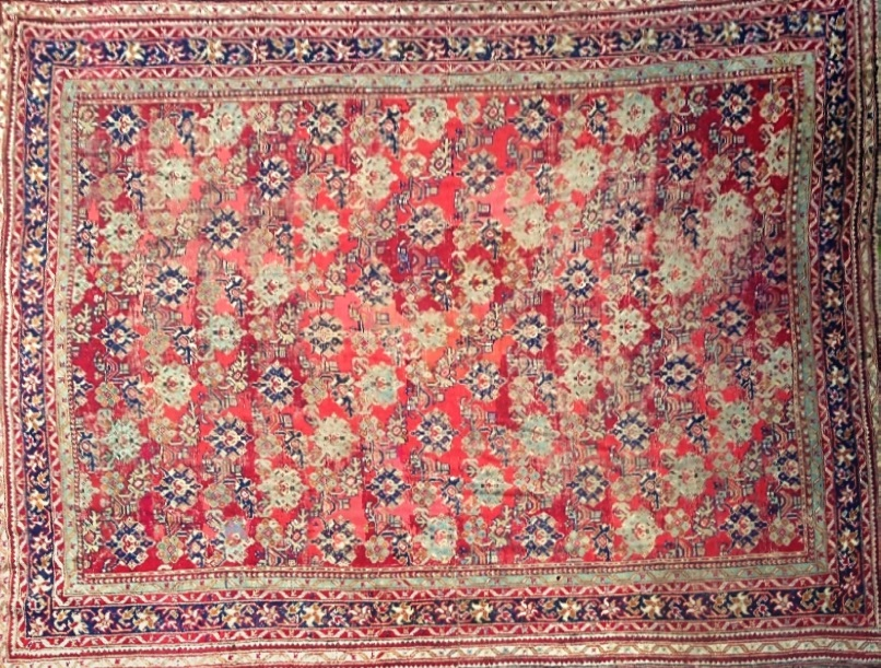 important tapis oriental art islamique orientaliste. Black Bedroom Furniture Sets. Home Design Ideas