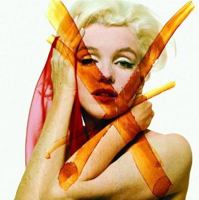 Bert Stern - Crucifix 3 - 1962 The Last Sitting - Marilyn