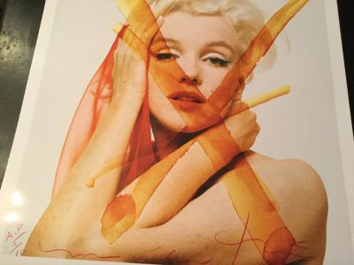Bert Stern - Crucifix 3 - 1962 The Last Sitting - Marilyn 2